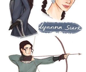 she wolf, house stark, and queen of love and beauty image