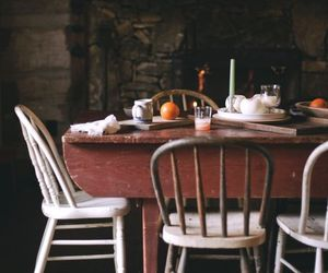 country living, farmhouse style, and dining room image