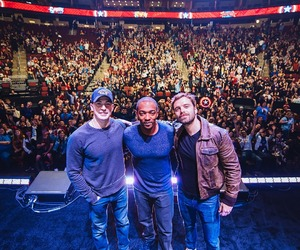 chris evans, sebastian stan, and anthony mackie image