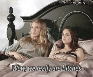 gossip girl, bitch, and girls image