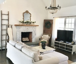 interior decorating, living room, and country living image