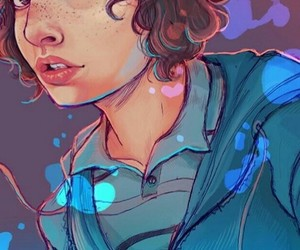 draw, stranger things, and finn wolfhard image