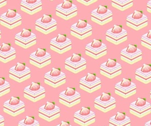 pink and tasty food image
