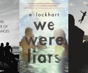 books, we were liars, and emily lockhart image