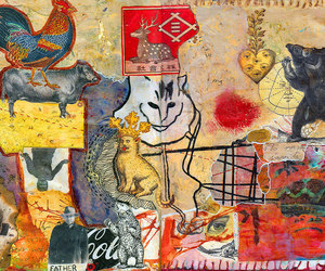 Collage, totems, and brian kasstle image