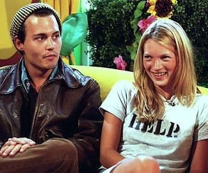 couple and kate moss image