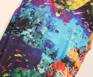 colours, underwater, and fish image