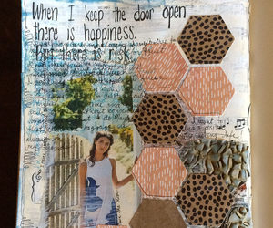 art journal, Collage, and visual diary image