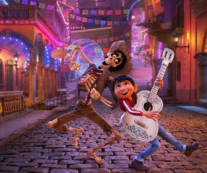 coco, disney, and pixar image