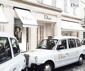 dior, car, and white image