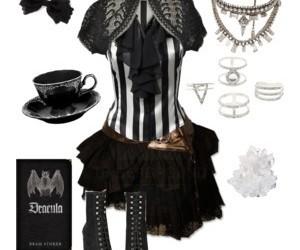 fashion, gothic, and gothic lolita image