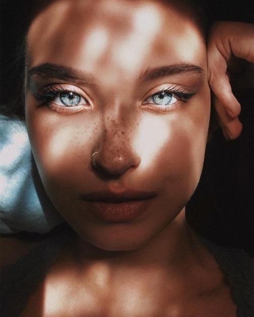 girl, eyes, and beauty image