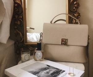 bag, candle, and magazine image