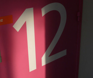 numbers, number 12, and pink image