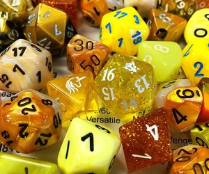 d&d, dice, and numbers image