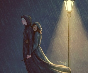 hermione and dramione image