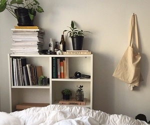 room, book, and tumblr image