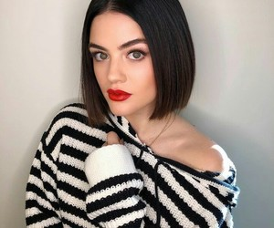 beautiful, sweater, and lucy hale image