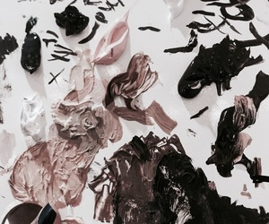art, paint, and vogue image