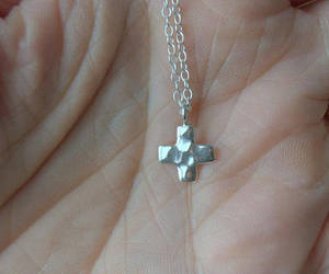 etsy, religious jewelry, and sterling silver image