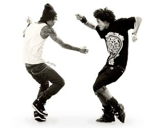 brothers, les twins, and dancers image