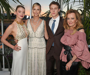 Charlize Theron, george mackay, and how i live now image