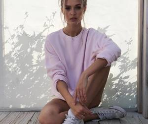 fashion, girl, and josephine skriver image