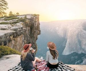 travel, friends, and adventure image
