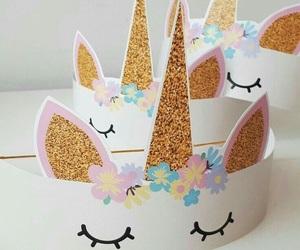 unicorn, diy, and fiesta image