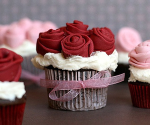 beautiful, food, and cupcake image