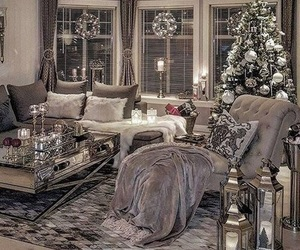 christmas, room, and home image
