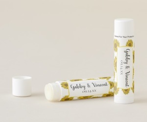 lip balm, summer wedding, and bridal shower favors image