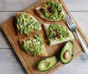 food, healthy, and avocado image
