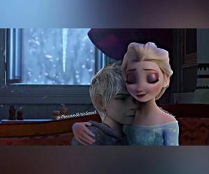 disney, hug, and snowbabies image