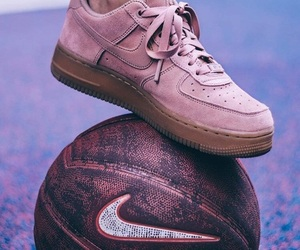 Basketball, pink, and air force nike image