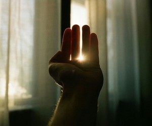 hand, sun, and photography image