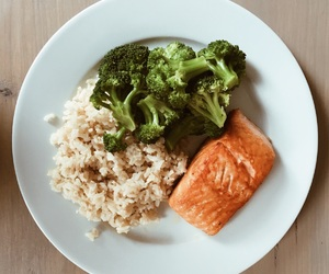 broccoli, diet, and dinner image