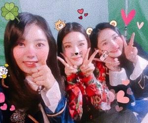 아이오아이, kyulkyung, and 나영 image