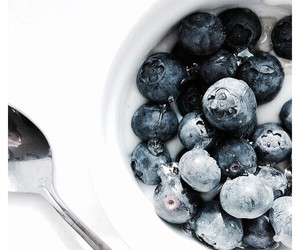 blueberry, food, and blue image