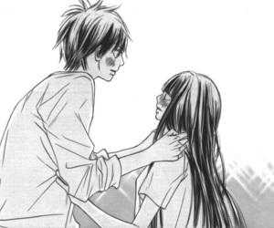 manga, kimi ni todoke, and kuronuma sawako image