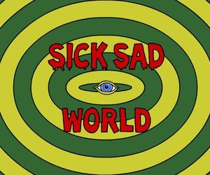 Daria, sad, and world image