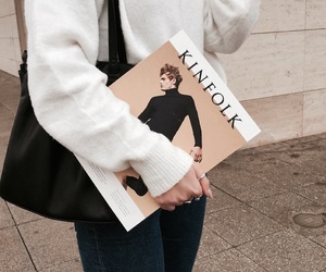 book, fashion, and chic image