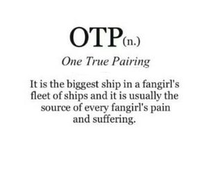 otp and fangirl image