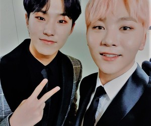 Seventeen, seungkwan, and hoshi image