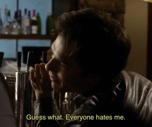 damon salvatore, the vampire diaries, and hate image