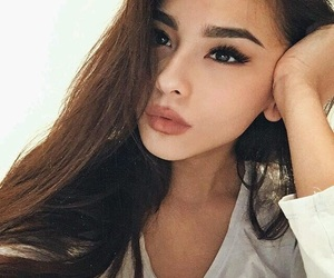 girl, beauty, and style image