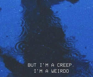 creep, Lyrics, and radiohead image