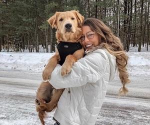 dog, fashion, and glasses image