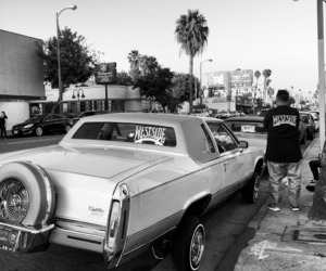 cadillac, latino, and low rider image