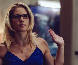 arrow, felicity smoak, and emily bett rickards image